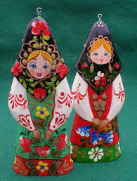 Russian Girl Christmas Ornament | Russian Legacy