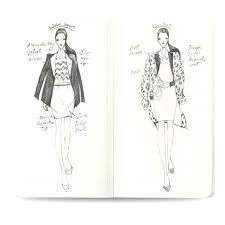 Fashion Illustration Template Book Nenneco