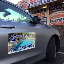 Full Color Magnetic Signs For Your Car Truck Or Van Yelp