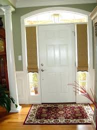 front door with side windows. Curtains For Front Door Side Windows With