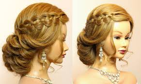 Wedding Prom Hairstyles For Long Hair Tutorial Bridal Updo Youtube