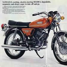 magic bullet 1974 1976 yamaha rd200