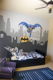Gallery of Breathtaking Batman Decor For Kids Room Design Ideas