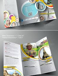 Great Travel Brochure Templates Graphic Design Examples Samples
