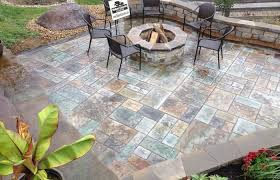 build stamped concrete patio ideas life on the move designs patterns textured concrete patio stained