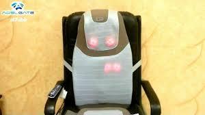 massage pad for chair. homedics sbm-700h-eu test massage pad for chair