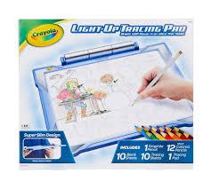 Crayola Crayola Light Up Tracing Pad Blue Light Up Tracing Pad Gift Set For Boys Crayola Com Crayola
