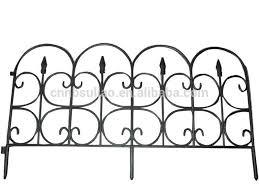 Recinzioni Da Giardino In Metallo : Nero di plastica decorativi da giardino recinzione bordo