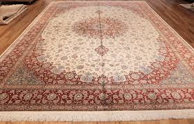 room size modern silk qum persian rug 49399 whole nazmiyal