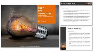creative powerpoint templates creative bulb business powerpoint templates