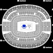 U2 Metlife Seating Chart Detailed Seating Chart Giants Stadium New York Giants