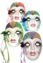 Decorative Face Masks Porcelain ceramic masks can be worn but also make fantastic 94