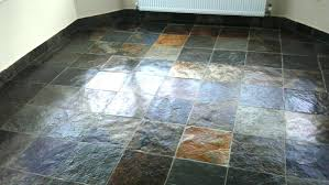 how to seal slate tile slate floor after cleaning and sealing