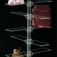 Footwear Display Stands PLEXIGLASS FOOTWEAR DISPLAY STANDS Vetrina SP 79
