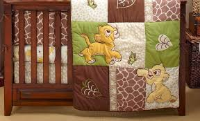 lion king go wild 5 piece baby crib bedding set with per by disney baby