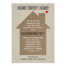 Housewarming Invitations Templates Unique Housewarming Party Invitation Burlap House House Warming