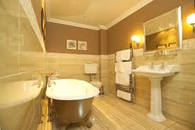 Bathroom With Tiles Toilet Wall Tiles High Tank Toilet Bathroom Traditional With