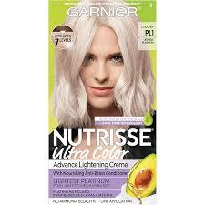 lightest platinum hair color