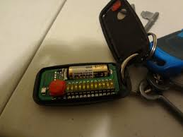 opened remote