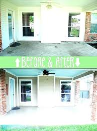 best paint for concrete patio vs stain home depot or can you slabs porch coating