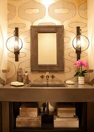 photos bath crashers diy mid century modern focus wall with interesting sconces