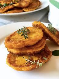 savoury pumpkin fritters recipe igluten