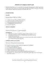 hospitality skills resume to sample resume hospitality skills list  hospitality job skills for resume