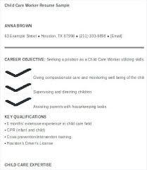 Sample Resume Child Care Sample Resume For Daycare Jobs Resume