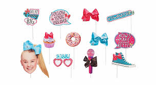 Jojo Siwa Photo Booth Props Transparent Png Download