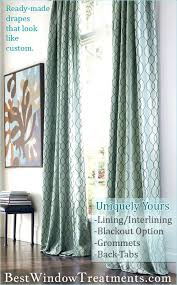 120 inch width curtains interlining grommets back tabs in standard size curtain panels plus extra long