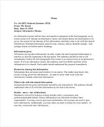 what is a business memo 10 business memo templates free sample example format download