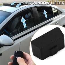 car window closer durable automatic obd sunroof opening auto security system kit