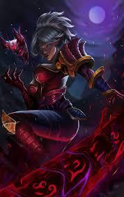 warrior riven league of legends fantasy art hd wallpaper desktop background