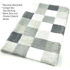 striped bath rug gray and white bathroom rugs link below this image for more details