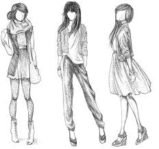 Collection Of Fashion Designer Drawing Download More Than 30