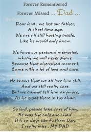 In Loving MemorycardkeepsakeGraveflower Dad Fathers Day Impressive Missing Love Memories Images