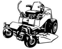 commercial lawn mower silhouette. pin tractor clipart zero turn #8 commercial lawn mower silhouette