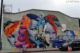 you ll also see many other hidden art treasures including the rich urban sculpture scene and some local spots of truly curious history  on wall mural artist los angeles with downtown la graffiti and mural tour la art tours