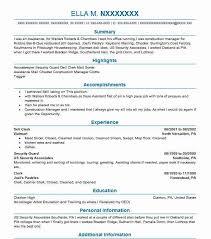 1130 Housekeeping Resume Examples In Pennsylvania Livecareer