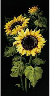 Sunflowers Cross Stitch Kit