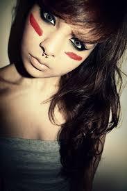 alternative alternative brown hair cute eyes makeup scene