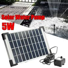Solar Water Pump Kit With Led Lights 2 3 5w Solar Power Fountain Water Pump Kit Garden Outdoor Pond Submersible Kit
