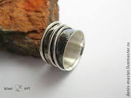 """широкое серебряное <b>кольцо</b>""""<b>Селена</b>""""широкое кольцо из ..."""