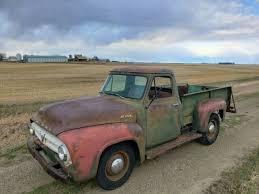 1953 Mercury M250 Ford F100 F250 V8 Barn Find Patina Farm Truck NO ...