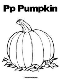 Small Picture P is for pumpkin Coloring Page from TwistyNoodlecom Literacy
