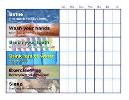 Wolf Advancement Chart 52 Bright Cub Scout Health Habits Chart