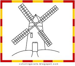 farm windmill drawing. Simple Windmill Drawing Snail Farm N