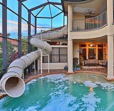 mansion with indoor pool with slides. Exellent Pool Pin By Roxy S On Dream House  Pinterest Future House And House Inside Mansion With Indoor Pool Slides M
