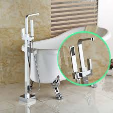 freestanding bath prices south africa. bright chrome floor mount bathtub shower faucet single handle freestanding bathroom tub mixer taps(china bath prices south africa