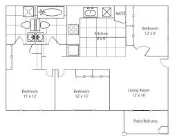 3 bedroom apartments plan. Bedroom Apartment Plans And 3 Apartments Plan